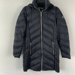 Michael Kors Packable Down Fill Puffer Jacket